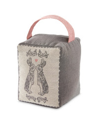 Bunnies Tapestry Doorstop