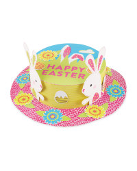 Bunny Easter Card Hat