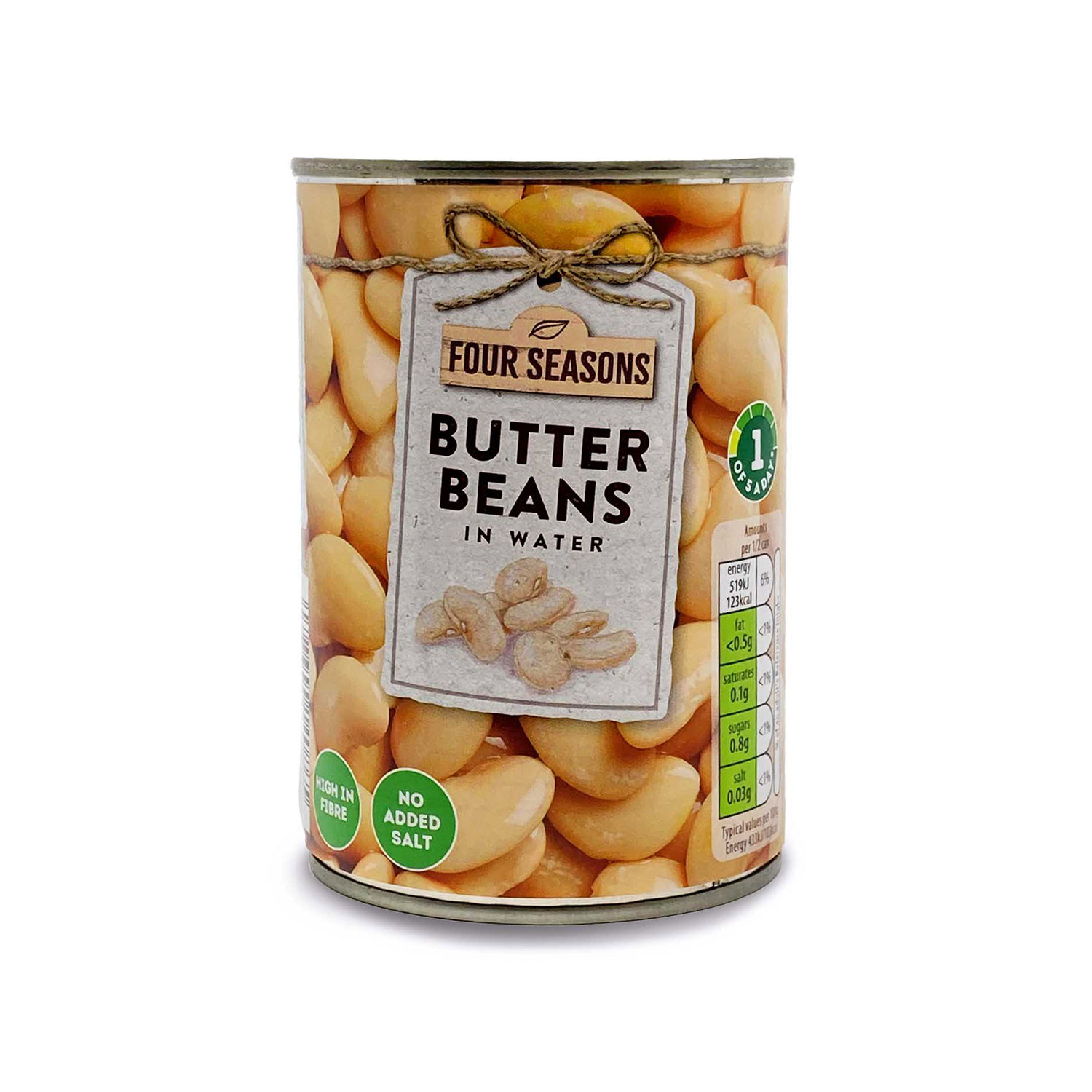 Butter Beans In Water
