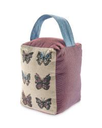 Butterflies Tapestry Doorstop