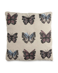 Butterflies Tapestry Vintage Cushion