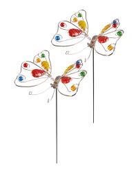Butterfly Garden Stake 2 Pack