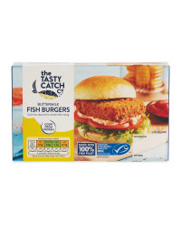 Buttermilk Fish Burgers
