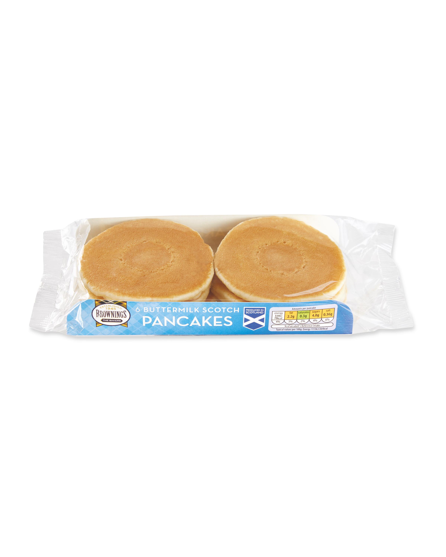 Buttermilk Scotch Pancakes