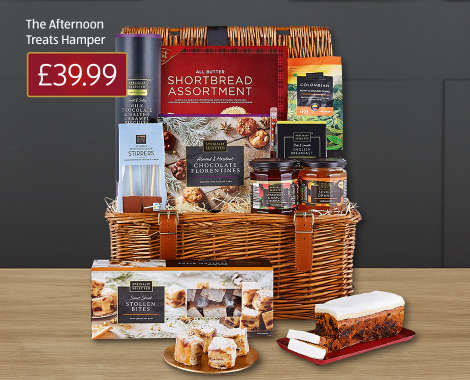 Luxury Christmas Hampers Online Food Hampers Aldi Aldi Uk