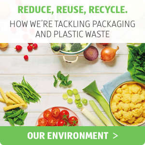 Reduce, Reuse, Recycle - ALDI UK