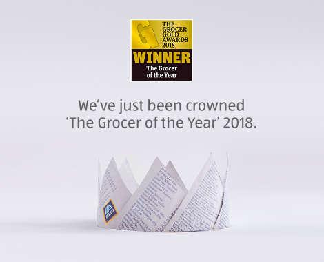 The Grocer Gold Awards 2018 - ALDI UK