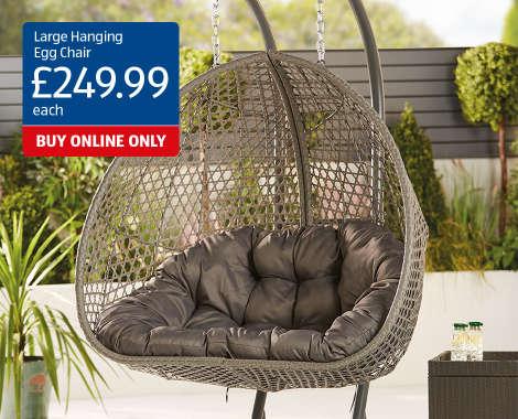 Rattan Hanging Egg Chair Pod, Hanging Egg Chair Outdoor Uk