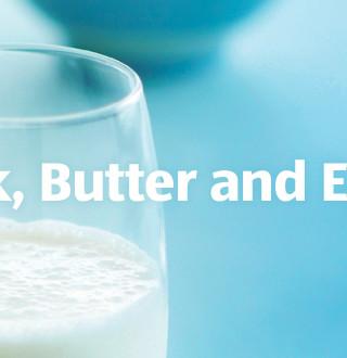 Milk, Butter and Eggs - ALDI UK