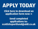 Scottish Sport Fund Aldi Uk