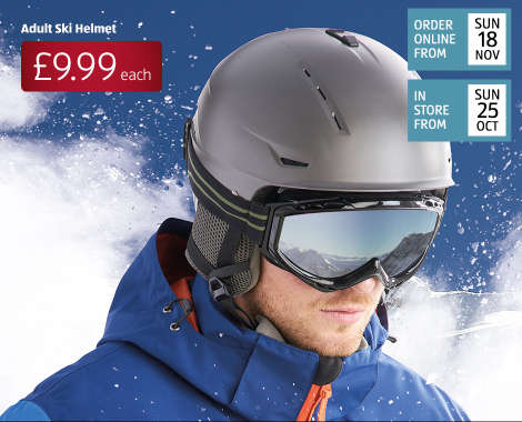 c493b636f9 Ski Helmet  Ski helmets are a must to make sure everyone stays safe on the  slopes. And with their tough ABS shell and comfortable inner padding for a  ...
