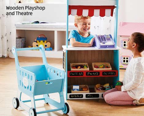 pretty nice 4652b 1b4f9 Wooden Toys | Online Toy Shop - ALDI UK