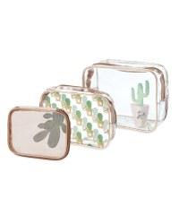 Avenue Cactus Cosmetic Bag Set
