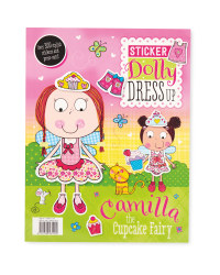 Camilla Dress Up Sticker Book