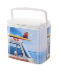 Retro Coolbox Camper Van