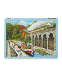 Canalside Memories Jigsaw Puzzle