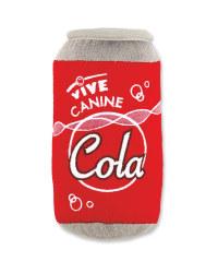 Canine Cola Plush Snacks Dog Toy