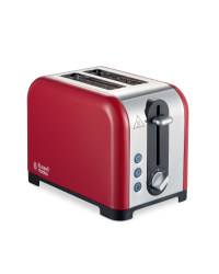 Russell Hobbs Canterbury Toaster - Red