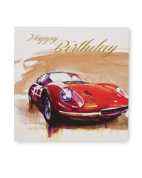 2 Pack Birthday Card - Cars
