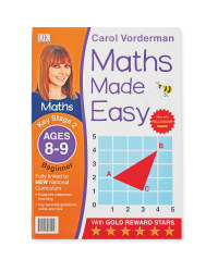 Carol Vorderman Maths Made Easy 8-9
