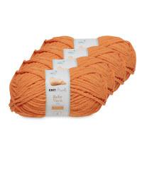 Carrot Baby Yarn