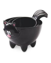 Cat Measuring Cup - Black
