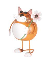 Cat Metal Garden Ornament