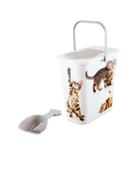 Pet Collection Cat Food Container