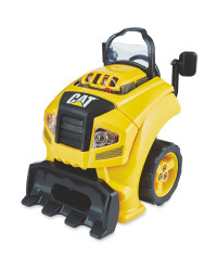 Yellow CAT Truck Toy Engine