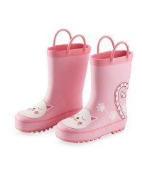 Lily & Dan Kids Cat Wellies