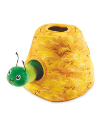 Caterpillar Hide And Seek Dog Toy