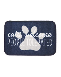 Cats Welcome Washable Feeding Mat
