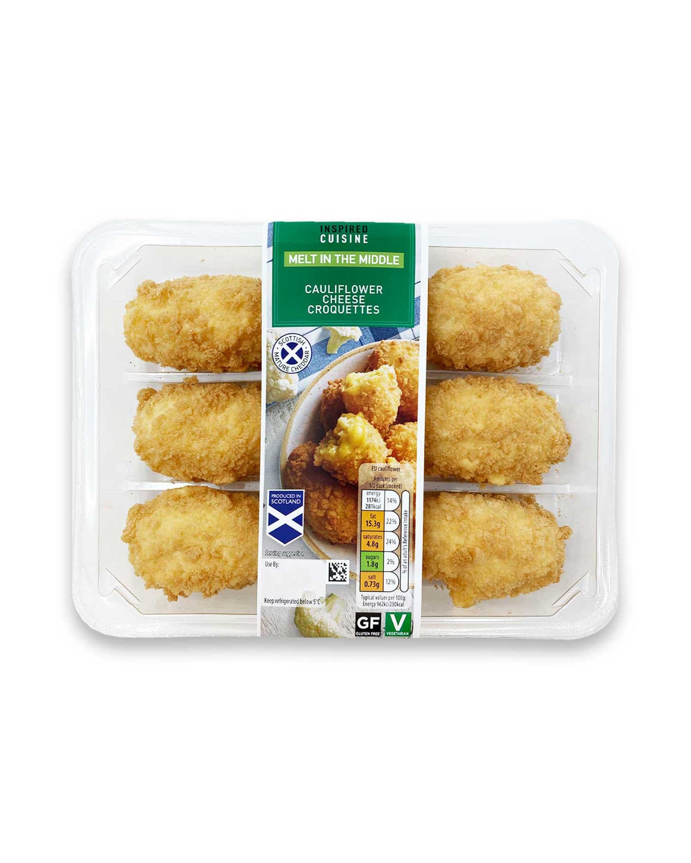 Cauliflower Cheese Croquettes