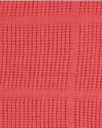 Cellular Blanket with Satin Trim - Pink