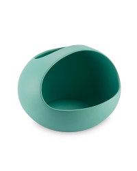 Ceramic Salad Bowl Large - Teal