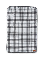 Charcoal Check Cosy Pet Blanket