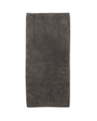 Charcoal Grey Bath Runner