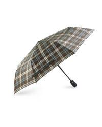 Avenue Check Automatic Umbrella - Grey