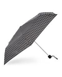Check Supermini Print Umbrella