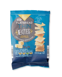 Cheddar & Black Pepper Thins