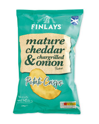 Cheddar & Onion Potato Crisps