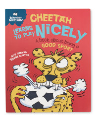 Cheetah Learns To Play Nicely Book