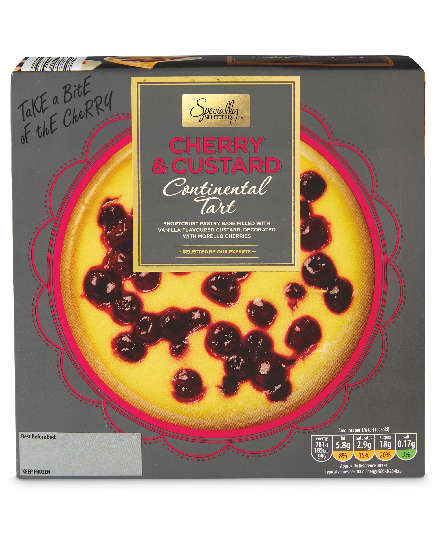 Cherry & Custard Tart