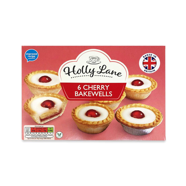 6 Cherry Bakewells