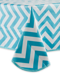 Chevron PVC Tablecloth