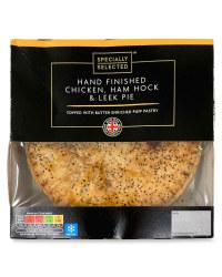 Chicken, Ham Hock & Leek Pie