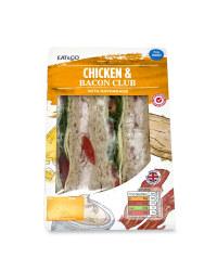 Chicken & Bacon Club Sandwich