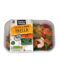 Chicken & Prawn Paella
