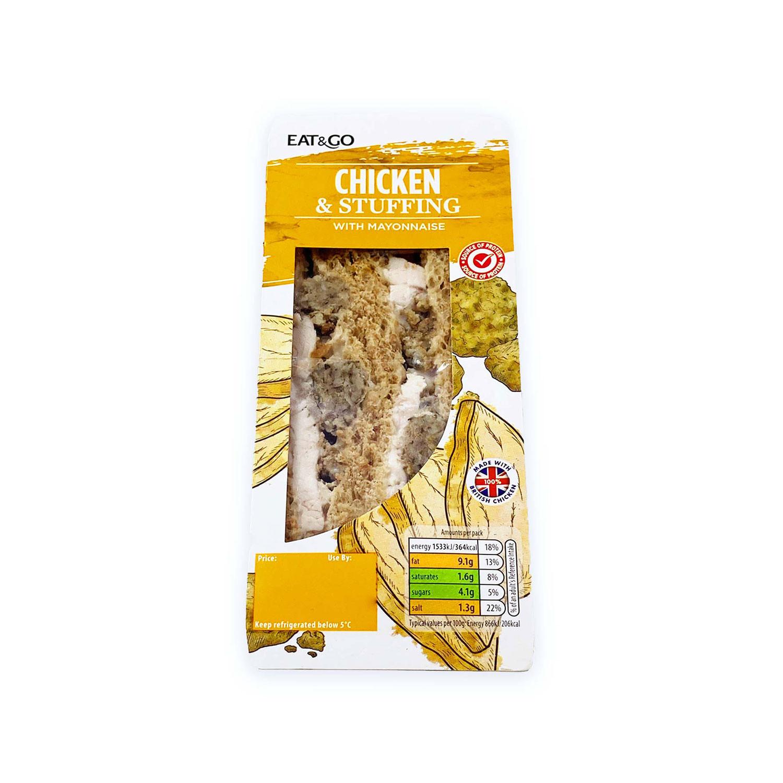 Chicken & Stuffing Sandwich