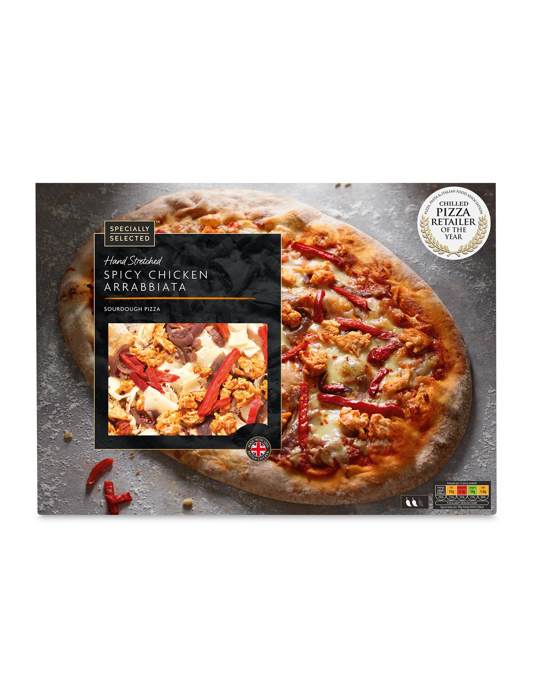 Spicy Chicken Arrabbiata Pizza